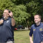 Councilmen Tom Kranz and Kevin Boris welcomed everyone
