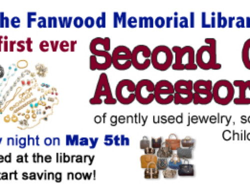 Library hosts Second Chance Accessory Sale