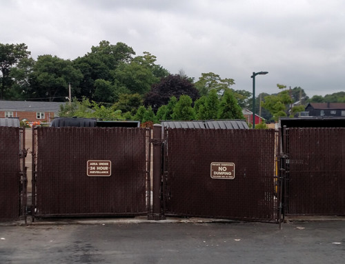 Improper Disposal & Infestation near Municipal Dumpster Lot
