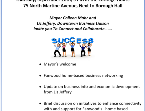 Fanwood Home-Based Business Reception