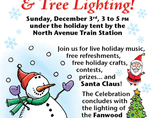 Save the Date: Fanwood's Holiday Tree Lighting and Celebration!