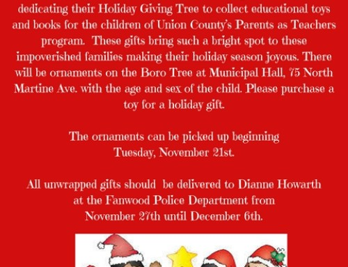 Fanwood Holiday Giving Tree