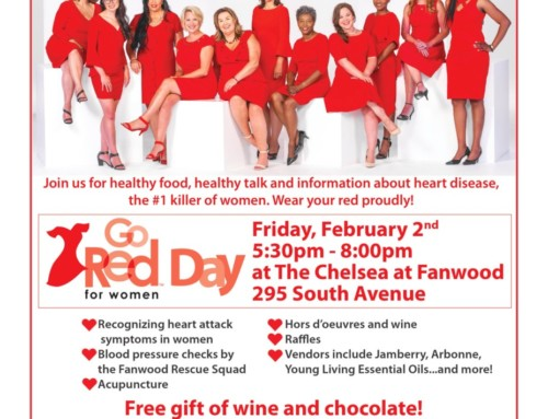 Go Red Fanwood! Women's Heart Health Fair